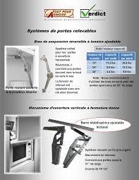 penture porte armoire cuisine systeme porte relevable cuisine great systeme penderie escamotable