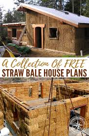free straw bale house plans