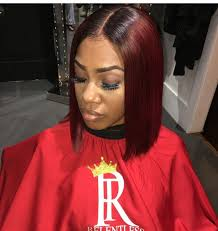 Blunt Cut Bob Hairstyle 568 Best Bobs Images On Pinterest Black Hairstyles Natural