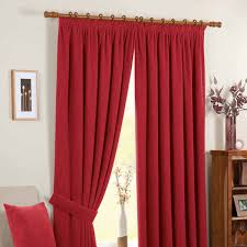 chenille spot readymade curtains red clearance curtains glasswells