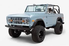 ford bronco 2017 1971 ford bronco by classic ford broncos gear patrol