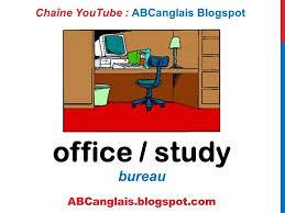 cours d anglais 46 le bureau en anglais fournitures meubles