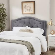 grey headboards for less overstock com