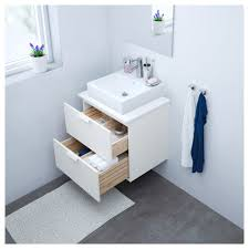 Ikea Godmorgon Vanity Godmorgon Wash Stand With 2 Drawers White 60x47x58 Cm Ikea