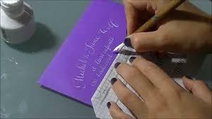 enveloppe faire part mariage enveloppe de faire part de mariage par c comme calligraphie