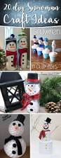20 diy snowman craft ideas making christmas even more happiness