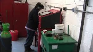 Homemade Blast Cabinet Sand Blast Cabinet Dust Extraction Youtube