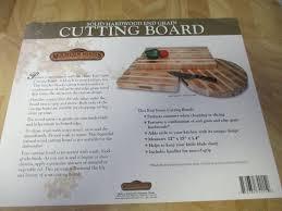sur la table cutting board new sur la table mountain woods end grain rare light cutting board