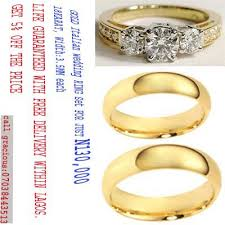 gold wedding rings in nigeria italian gold ring sets with free delivery within lagos events