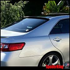 toyota camry spoiler amazon com toyota camry 2007 2011 xv40 rear window roof spoiler