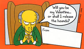 simpsons valentines day card s day corporate autograph your work with excellence