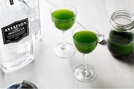 green vesper recipe epicurious com