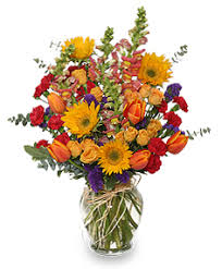 fall flower arrangements fall treasures flower arrangement in monument co enchanted florist