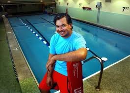 Blind Fitness He U0027s In Charge Of Fun And Fitness At The Pool Perkins For