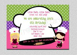 Pampered Chef Party Invitations Funny Belated Birthday Cards