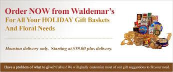 fruit delivery houston waldemar s fruit floral gift catalog