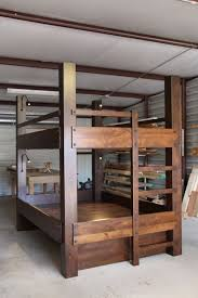 Rustic Bunk Bed Plans Twin Over Full by Best 25 Low Bunk Beds Ideas On Pinterest Bunk Beds With