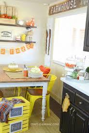 Fall Kitchen Decor - plaid fall kitchen decor craft o maniac