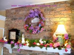 easter mantel decorations 59 best easter mantels images on easter decor