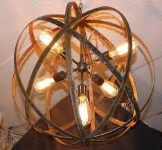 outdoor gazebo chandelier lighting 13 best metal sphere hanging lights with thomas edison bulbs images