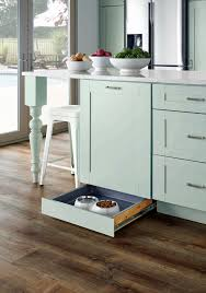 kitchen week at the home depot the martha stewart blog another part of the pet feeding center that i love is the toe kick drawer for feeding it contains messes and controls access to food