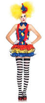 Scary Halloween Clown Costumes 25 Clown Costume Ideas Clown Makeup