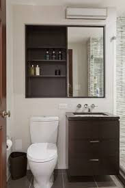 lighted medicine cabinet bathroom transitional with double vanity