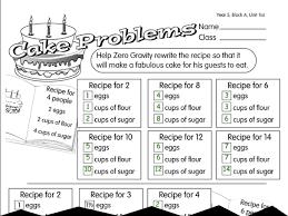 cake problem a year 5 ratio u0026 proportion worksheet