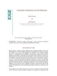constitutive relations for soil materials pdf stress mechanics