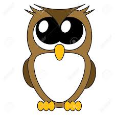 hoot clipart face pencil and in color hoot clipart face
