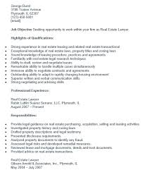 Lawyer Sample Resume by Resume Real Estate Attorney Simple Experienced Resume Sample With