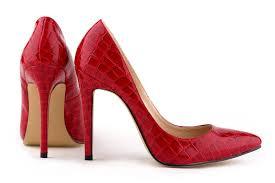 high heel shoes red bottom is heel