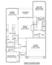 Colony Homes Floor Plans by Plan F573 Meridiana In Iowa Colony Tx