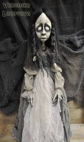 Folk Art Halloween Decorations 85 Best Dolls Of Nightmares Images On Pinterest Creepy Dolls