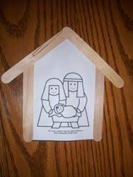 i this manger ornament you could print the picture or