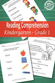 back to reading comprehension worksheets free printable