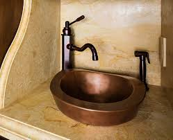 Copper Kitchen Sink by Bathroom Sink Copper Bathroom Sinks Bathroom Vessel Sinks