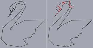 Origami Illustrator - creating an origami style vector swan in illustrator
