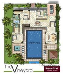house plans with pool house pin by antonella meneses on plano para casa house