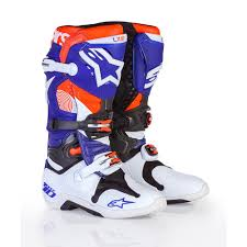 white motocross boots alpinestars limited edition indianapolis tech 10 mx boots white