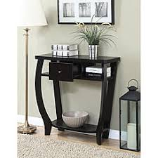 convenience concepts savannah console table convenience concepts sofa tables with free shipping sears