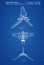 tie fighter blueprint star wars blueprints pinterest star