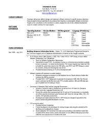 software developer resume summary northrop grumman resume free resume example and writing download senior mainframe software developer in dallas ft worth tx resume stephen rook
