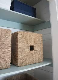 redesigning a cedar paneled closet for stylish storage behr