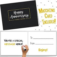 wedding gift by year third wedding anniversary gifts three year booklet