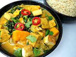 Thai Red Pumpkin Curry Recipe by Vegie Head Tofu And Pumpkin Lemongrass Curry Vegie Head