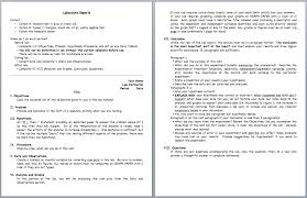 lab report template word claremont lab report graphic organizer ucla center x