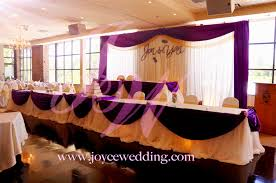 wedding decoration ideas purple and gold wedding party decoration