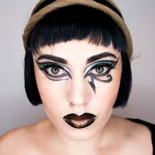face of the day cleopatra halloween makeup u2039 the dress up box
