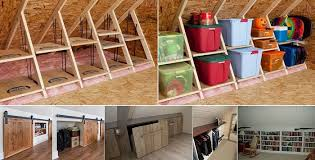 clever storage ideas for your attic home design garden